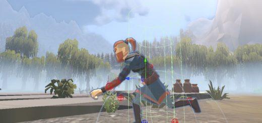 Movement mechanics - characeter movement animation.