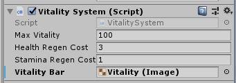 Vitality system window